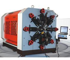 8mm 12 Axis CNC Versatile Car Spring Forming Machine&Tension/Torsion Spring Making Machine pictures & photos