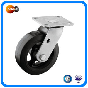 Heavy Duty Rubber on Iron Core Casters pictures & photos