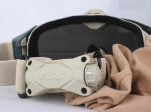 Airsoft Tactical Ess Fan Anti-Fog Glasses Military Safety Goggles pictures & photos