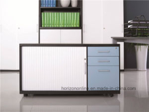 Mobile Caddy Filing Cabinet with 3 Drawers and Tambour Door Hot Wholesale