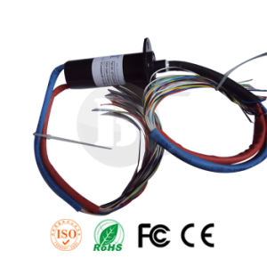 Competitive Capsule Electrical Slip Ring 24 Wires Od 22mm or 25mm pictures & photos