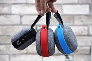 2017 New Wireless Bluetooth Speaker, Mini Cloth Shell Lanyard Portable Speaker Outdoor Bluetooth Speaker Wsa-8622