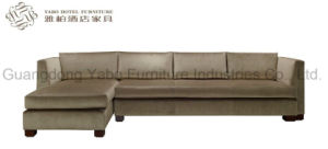 Living Room Corner Sofa with Hard Wood Frame pictures & photos
