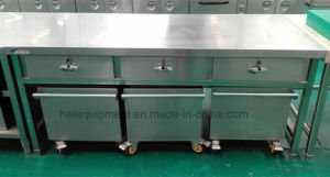 Superior Quality Stainless Steel Workbench with Drawers pictures & photos