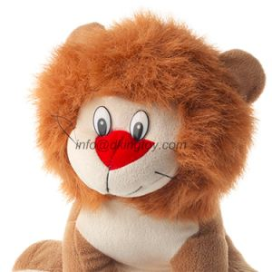 Customized Sitting Stuffed Animal Plush Lion Toys for Kids pictures & photos