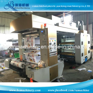 High Speed Chamber Doctor Blade PE Film Printing Machine pictures & photos