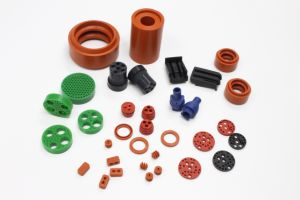 NBR/ Silicone/EPDM Molded Customize Rubber Parts pictures & photos