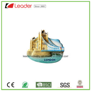 Polyresin Souvenir 3D Refrigerator Magnet with Building Design for Promotion Gifts pictures & photos