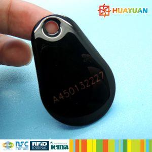 Gym MIFARE Classic 1K epoxy RFID key fob keychain tag pictures & photos