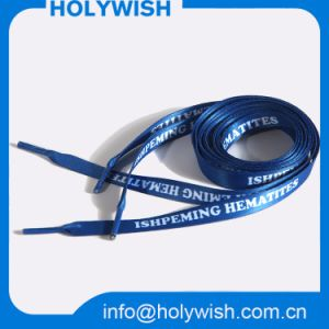 Custom Eco-Friendly Polyester Material Sublimation Shoelace pictures & photos