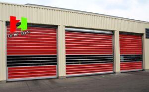 Rapid Automatic Interior Foamed Injection Vertical Roller Shutter Door (Hz-FC0290) pictures & photos