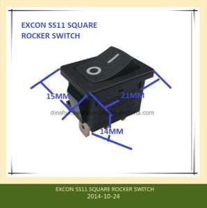 Switch Ss11 Series Boat Switch with High Rating 16A for Printer