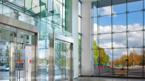 Modern Ladder Systems Frameless Low E Glass Curtain Wall pictures & photos