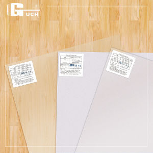 High Quality PVC Coated Overlay Film Manufacture in China pictures & photos