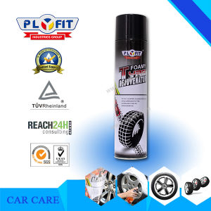Waterless Cleaning Shine Car Tire Foam Spray Cleaner pictures & photos
