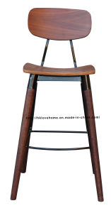 Morden Restaurant Furniture Walnut Copine Sean Dix Bar Dining Chairs pictures & photos
