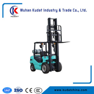 3.5ton LPG/Gasoline Forklift Truck with Japan Nissan K25 Engine pictures & photos