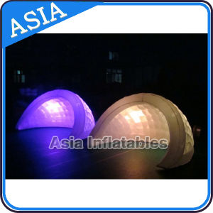 Advertising Outdoor Inflatable Tent White Inflatable Igloo Tent with LED Lighting pictures & photos