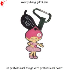 Customized Rubber Key Ring for Promotion Gifts (YH-KC105) pictures & photos