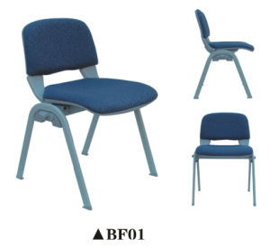 Useful Conference Mesh Chair with Writing Pad and Bookcase pictures & photos