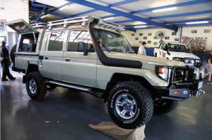Fine Quality Snorkel for Toyota 78 Series Narrow Front Landcruiser pictures & photos