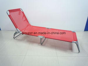 Folding Bed Beach Bed Textilene Bed pictures & photos