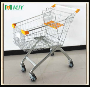 100 Liters Supermarket Shopping Cart Mjy-100b-E pictures & photos