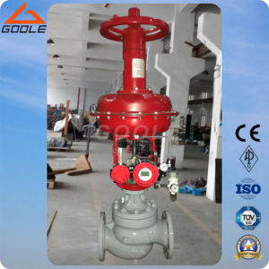High Temperature Pneumatic Pressure Control Valve ((ZJHM) pictures & photos