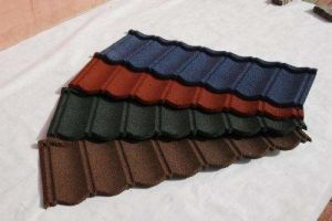 Colorful Roof Tile/Metal Roofing Tile with Colorful Stone pictures & photos