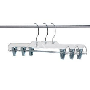 [Sinfoo] 14 Inches Plastic Transparent Clothes Hanger (pH1401C-4) pictures & photos