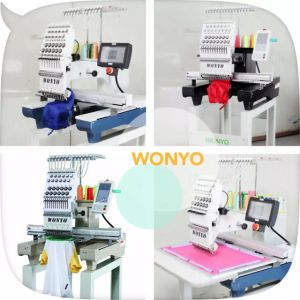 High Speed Single Head Sequin Cording Embroidery Machine pictures & photos
