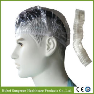 Disposale PE Shower Cap, PE Bathing Cap pictures & photos