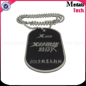 Shiny Silver Custom High Polished Metal Dog Tag Bottle Opener Necklace pictures & photos