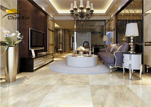 Living Room Indoor Ceramic Tile, Glazed Porcelain Floor Tile 600X600 pictures & photos