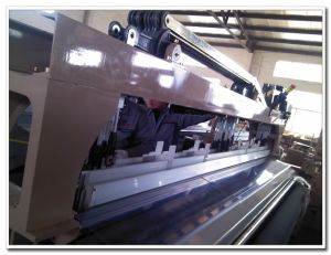 Double Nozzle Water Jet Weaving Loom Textile Machine with Cam or Dobby Shedding pictures & photos