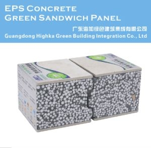 Lightweight Fire Retardant Cement Foam Insulation Sandwich Board Panel for House pictures & photos