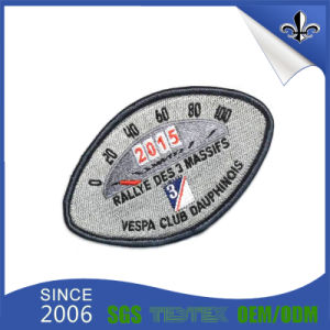 Laser Cut Garment Customized 100% Polyester Clothing Woven Labels pictures & photos