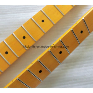 Musical Instruments One Piece Canadian Maple Guitar Neck for Strat Guitar pictures & photos