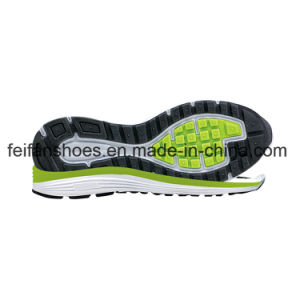 Round Head Sports Shoes Sole Running Sole Wear-Resisting Suspension EVA+TPR Shoes Sole pictures & photos