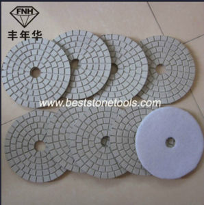 Wet Diamond Flexible Polishing Pads for Marble/Granite/Stone Polishing pictures & photos