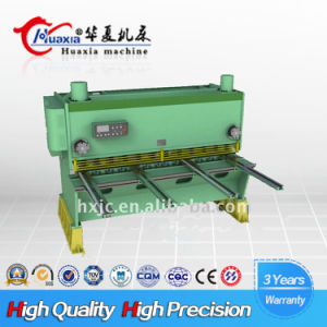 Hydraulic Guillotine Shearing Machine 8*4000 pictures & photos