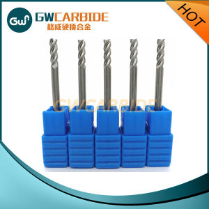 Carbide Standard Square End Mill with 4 Flutes Made in China pictures & photos