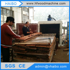How to Dry Timber by High Frequency Vacuum Wood Dryer Machine