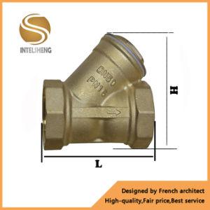 Brass Y-Type Flange Water Valve Strainer pictures & photos