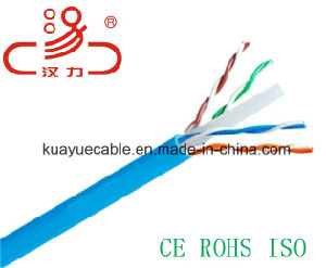 Utpcat 6 1000 FT 23 Awc/UL/Cmr/Bare Copper/Cable Network/ Communication Cable/ UTP Cable/ Computer Cable/Lin′an Cable/Hanli Cable pictures & photos