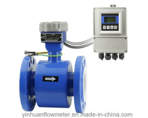 Zb Intelligent Converter Flange Divided Type Electromagnetic Flowmeter pictures & photos