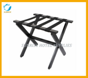 Folding Hotel Wooden Luggage Rack pictures & photos