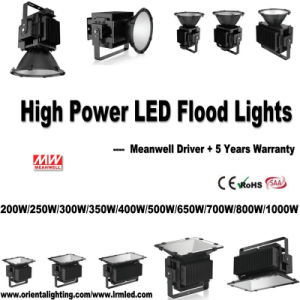 China Manufacturer Quality Outdoor IP67 Waterproof 700W LED Floodlight pictures & photos
