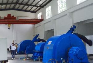 Water Turbine/ Pelton Turbine (double nozzle) / Hydro Turbine/ Turbine Generator Unit/High Quality pictures & photos