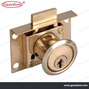 Drawer Lock with Brass Cylinder (502013) pictures & photos